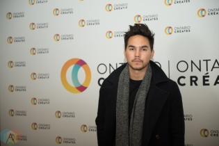 TORONTO, ON - MARCH 07: Tyler Shaw attends the Ontario Creates 2019 JUNO award nominees reception in Toronto on March 07, 2019. (Photo: Kirsten Sonntag/Aesthetic Magazine)