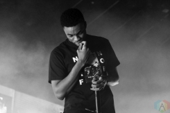 TORONTO, ON - MARCH 05: Vince Staples performs at Rebel in Toronto on March 05, 2019. (Photo: Stephan Ordonez/Aesthetic Magazine)