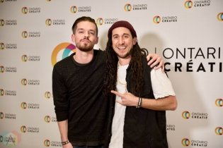 TORONTO, ON - MARCH 07: Walk Off The Earth attends the Ontario Creates 2019 JUNO award nominees reception in Toronto on March 07, 2019. (Photo: Kirsten Sonntag/Aesthetic Magazine)