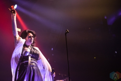 TORONTO, ON - MARCH 06: Within Temptation performs at Rebel in Toronto on March 06, 2019. (Photo: Jaime Espinoza/Aesthetic Magazine)