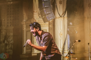 VANCOUVER, BC - MARCH 04: Young The Giant performs at Orpheum in Vancouver on March 04, 2019. (Photo: Danica Bansie/Aesthetic Magazine)