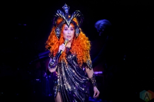 TORONTO, ON - APRIL 22: Cher performs at Scotiabank Arena in Toronto on April 22, 2019. (Photo: Angelo Marchini/Aesthetic Magazine)