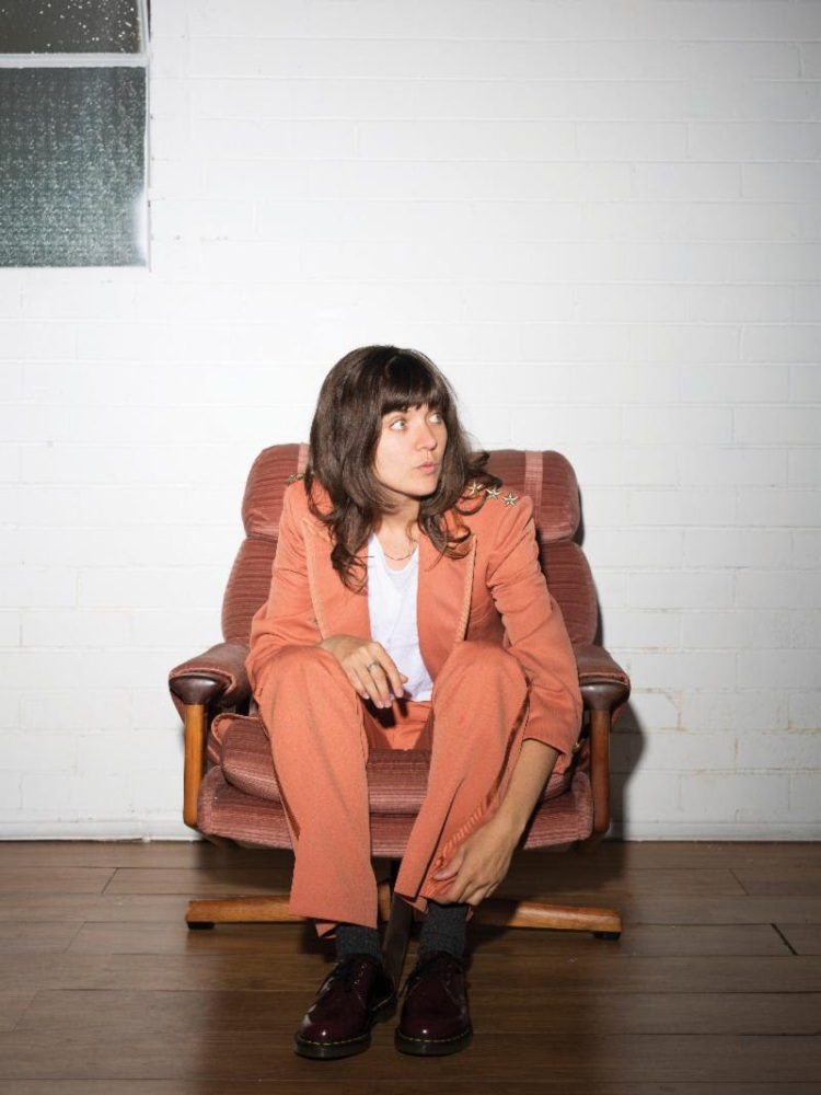 Courtney Barnett. (Photo: Mia Mala McDonald)