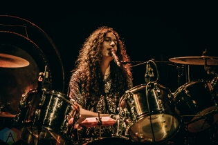 TORONTO, ON - APRIL 19: Crown Lands performs at Danforth Music Hall in Toronto on April 19, 2019. (Photo: David Scala/Aesthetic Magazine)