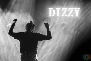 TORONTO, ON - APRIL 16: Dizzy performs at The Mod Club in Toronto on April 16, 2019. (Photo: Morgan Hotston/Aesthetic Magazine)