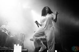 MANCHESTER, UK - APRIL 09: Mahalia performs at O2 Ritz Manchester in Manchester, UK on April 09, 2019. (Photo: Priti Shikotra/Aesthetic Magazine)