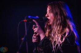 TORONTO, ON - APRIL 25: Monowhales performs at the Drake Hotel in Toronto on April 25, 2019. (Photo: David McDonald/Aesthetic Magazine)