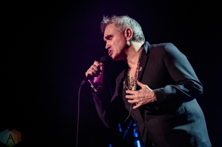 TORONTO, ON - APRIL 26: Morrissey performs at Sony Centre in Toronto on April 26, 2019. (Photo: David McDonald/Aesthetic Magazine)