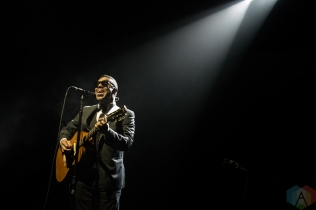 TORONTO, ON - APRIL 26: Murray Lightburn performs at Scotiabank Arena in Toronto on April 26, 2019. (Photo: Tyler Roberts/Aesthetic Magazine)