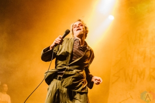 TORONTO, ON - APRIL 14: SWMRS performs at Phoenix Concert Theatre in Toronto on April 14, 2019. (Photo: Jenna Hum/Aesthetic Magazine)