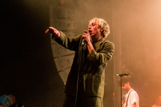 TORONTO, ON - APRIL 14: SWMRS performs at Phoenix Concert Theatre in Toronto on April 14, 2019. (Photo: Jenna Hum/Aesthetic Magazine)