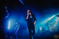 SACRAMENTO, CA - APRIL 16: Taking Back Sunday performs at Ace of Spades in Sacramento, California on April 16, 2019. (Photo: Kyle Simmons/Aesthetic Magazine)