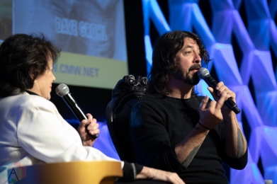 TORONTO, ON - MAY 10: Dave Grohl appears at Canadian Music Week in Toronto on May 10, 2019. (Photo: Brendan Albert/Aesthetic Magazine)