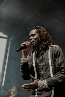 TORONTO, ON - MAY 25: Emmanuel Jal performs at Echo Beach in Toronto on May 25, 2019. (Photo: Kelsey Giesbrecht/Aesthetic Magazine)
