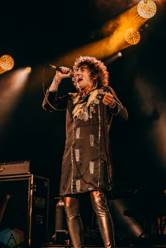 TORONTO, ON - MAY 28: Greta Van Fleet performs at Echo Beach in Toronto on May 28, 2019. (Photo: David Scala/Aesthetic Magazine)