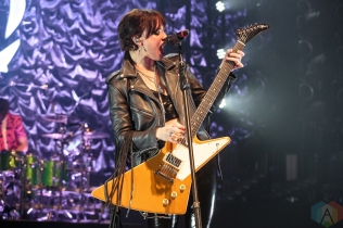 TORONTO, ON - MAY 13: Halestorm performs at the Danforth Music Hall in Toronto on May 13, 2019. (Photo: David McDonald/Aesthetic Magazine)
