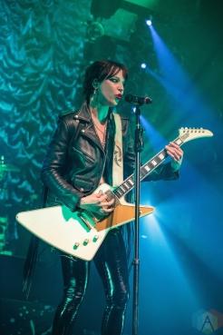 TORONTO, ON - MAY 13: Halestorm performs at the Danforth Music Hall in Toronto on May 13, 2019. (Photo: David McDonald/Aesthetic Magazine)