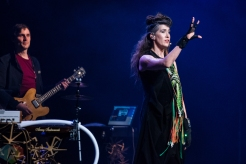 TORONTO, ON - MAY 16: Imogen Heap performs at Queen Elizabeth Theatre in Toronto on May 16, 2019. (Photo: Morgan Hotston/Aesthetic Magazine)
