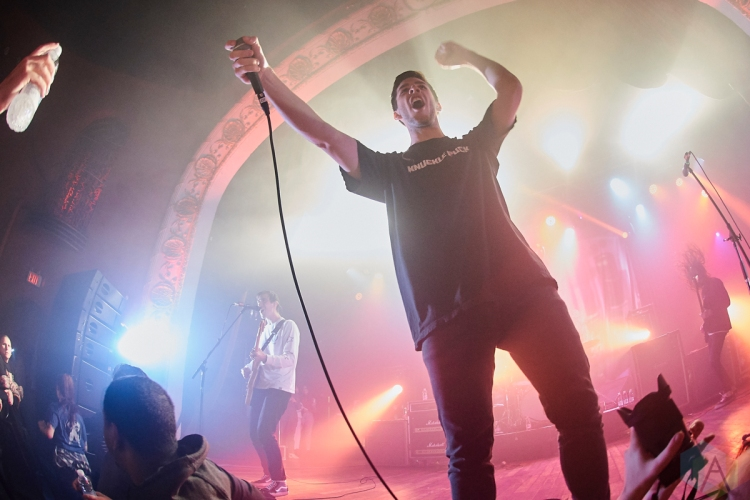 TORONTO, ON – MAY 12: Knuckle Puck performs at The Opera