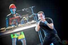 BOSTON, MASS - MAY 26: Logic performs at Boston Calling in Boston on May 26, 2019. (Photo: Alx Bear/Aesthetic Magazine)