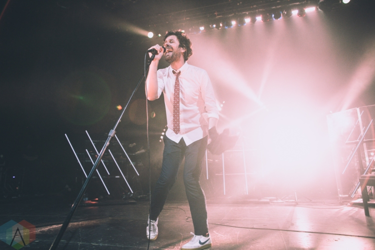 TORONTO, ON – MAY 17: Passion Pit performs at Danforth Music