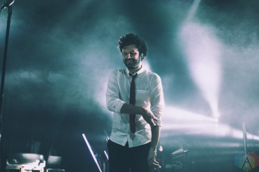 TORONTO, ON - MAY 17: Passion Pit performs at Danforth Music Hall in Toronto on May 17, 2019. (Photo: Alyssa Balistreri/Aesthetic Magazine)