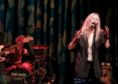 NEW YORK, NY - MAY 01: Patti Smith performs at Webster Hall in New York City on May 01, 2019. (Photo: Alx Bear/Aesthetic Magazine)