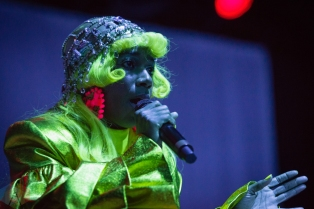 PHOENIX, AZ - MAY 14: Santigold performs at The Van Buren in Phoenix, Arizona on May 14, 2019. (Photo: Tony Contini/Aesthetic Magazine)