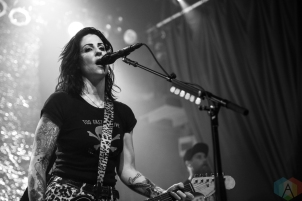 TORONTO, ON - MAY 25: The Distillers performs at Phoenix Concert Theatre in Toronto on May 25, 2019. (Photo: Brendan Albert/Aesthetic Magazine)