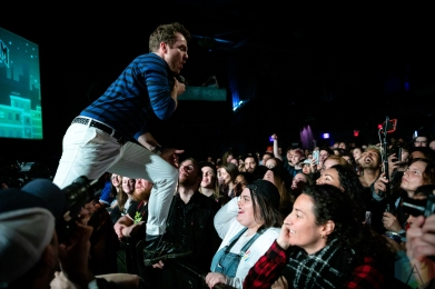 TORONTO, ON - MAY 11: The Elwins performs at Phoenix Concert Theatre in Toronto on May 11, 2019. (Photo: Brendan Albert/Aesthetic Magazine)