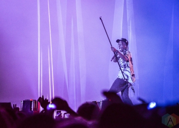 BOSTON, MASS - MAY 26: Travis Scott performs at Boston Calling in Boston on May 26, 2019. (Photo: Alx Bear/Aesthetic Magazine)