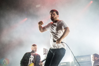 TORONTO, ON - JUNE 16: Alexisonfire performs at Budweiser Stage in Toronto on June 16, 2019. (Photo: Tyler Roberts/Aesthetic Magazine)