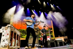 TORONTO, ON - JUNE 21: The Avett Brothers performs at Budweiser Stage in Toronto on June 21, 2019. (Photo: Michael Hurcomb/Aesthetic Magazine)