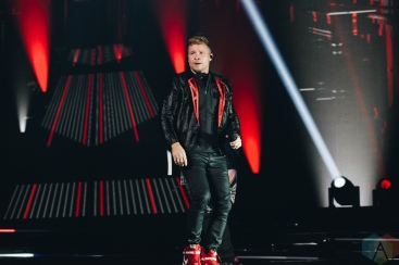 MANCHESTER, UK - JUNE 10: Backstreet Boys performs at Manchester Arena in Manchester, UK on June 10, 2019. (Photo: Priti Shikotra/Aesthetic Magazine)