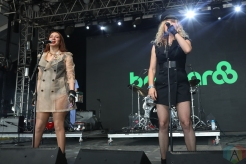 MANCHESTER, TN - JUNE 16: Maya Rudolph and Gretchen Lieberum of Princess performs at Bonnaroo on June 16, 2019. (Photo: Michael Hurcomb/Aesthetic Magazine)