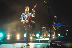 CHICAGO, IL - JUNE 27: Jimmy Eat World performs at Huntington Bank Pavilion in Chicago on June 27, 2019. (Photo: Katie Kuropas/Aesthetic Magazine)