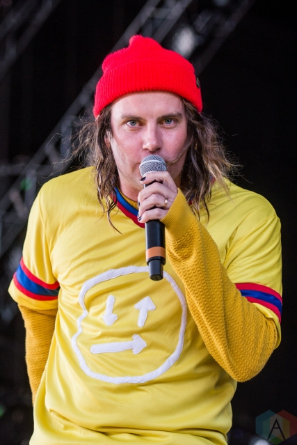 TORONTO, ON - JUNE 22: Judah And The Lion performs at Budweiser Stage in Toronto on June 22, 2019. (Photo: Joanna Glezakos/Aesthetic Magazine)