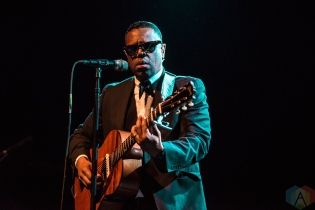 TORONTO, ON - JUNE 06: Murray Lightburn performs at Phoenix Concert Theatre in Toronto on June 06, 2019. (Photo: Joanna Glezakos/Aesthetic Magazine)