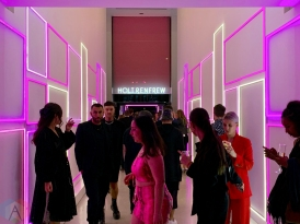 TORONTO, ON - JUNE 06: Power Ball: 21 Club at Power Plant Contemporary Art Gallery in Toronto, Ontario on June 06, 2019. (Photo: Curtis Sindrey/Aesthetic Magazine)