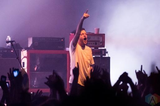 TORONTO, ON - JUNE 07: PUP performs at Danforth Music Hall in Toronto on June 07, 2019. (Photo: Katrina Lat/Aesthetic Magazine)