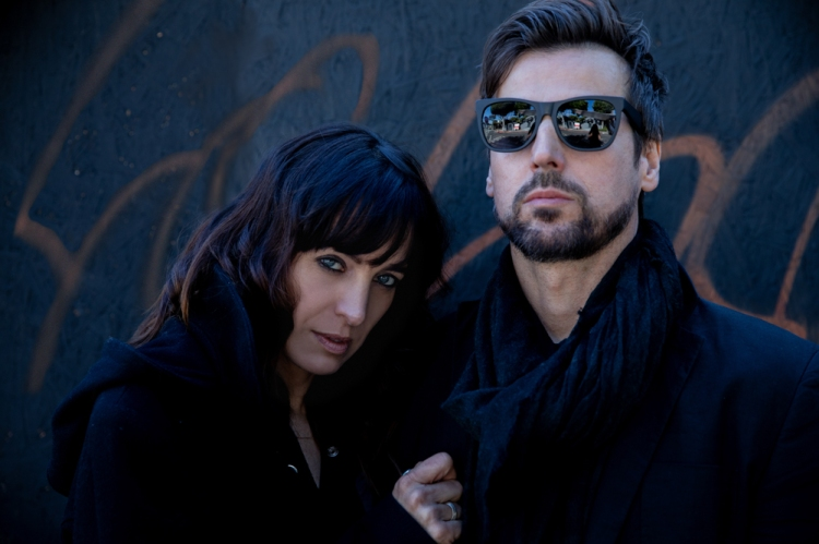 Chantal Kreviazuk (L) and Raine Maida.