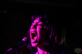 CALGARY, AB - JUNE 19: Screaming Females performs at Sled Island Festival at Palace Theatre in Calgary on June 19, 2019. (Photo: Curtis Sindrey/Aesthetic Magazine)
