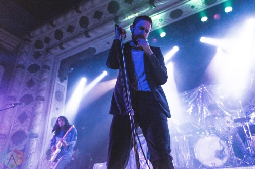 CHICAGO, IL - JUNE 18: Yeasayer performs at Metro Chicago in Chicago, IL on June 18, 2019. (Photo: Katie Kuropas/Aesthetic Magazine)
