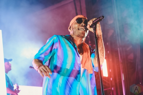 LOUISVILLE, KY - JULY 13: Anderson Paak performs at Forecastle Festival in Louisville, Kentucky on July 13, 2019. (Photo: Meghan Breedlove/Aesthetic Magazine)