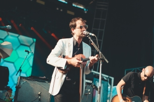 LOUISVILLE, KY - JULY 14: Andrew Bird performs at Forecastle Festival in Louisville, Kentucky on July 14, 2019. (Photo: Meghan Breedlove/Aesthetic Magazine)