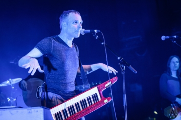 TORONTO, ON - JULY 16: Belle And Sebastian performs at Danforth Music Hall in Toronto on July 16, 2019. (Photo: David McDonald/Aesthetic Magazine)