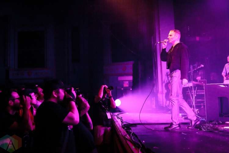 TORONTO, ON – JULY 16: Belle And Sebastian performs at