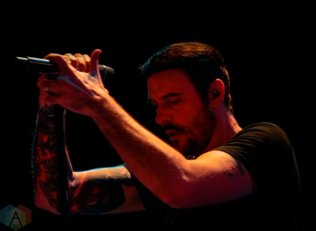 CLARKSTON, MI - JULY 24: Breaking Benjamin performs at DTE Energy Music Theatre in Clarkston, MI on July 24, 2019. (Photo: Jamie Limbright/Aesthetic Magazine)