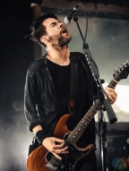 CLARKSTON, MI - JULY 24: Chevelle performs at DTE Energy Music Theatre in Clarkston, MI on July 24, 2019. (Photo: Jamie Limbright/Aesthetic Magazine)