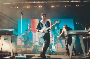 LOUISVILLE, KY - JULY 12: Chromeo performs at Forecastle Festival in Louisville, Kentucky on July 12, 2019. (Photo: Meghan Breedlove/Aesthetic Magazine)
